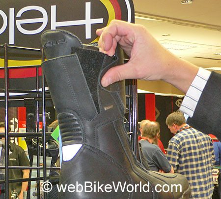 Held Adjustable Calf Motorcycle Boot