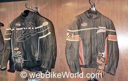 Held Aras Jacket (Left) and Rocco Jacket (Right)