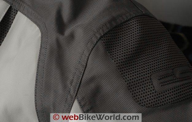 Rev'it! Infinity Suit - Shoulder Close-up