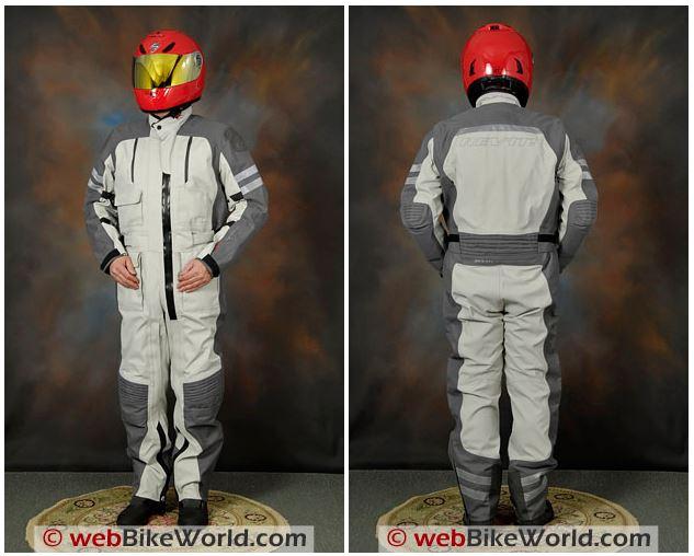 REV'IT! Infinity Suit Front Rear