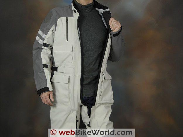 Rev'it! Infinity Suit - Upper Zipper