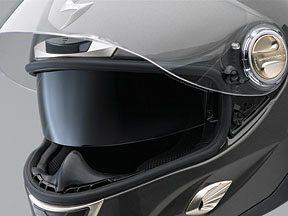 Scorpion EXO-1000 SpeedView Rotating Internal Sun Shade Visor