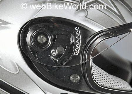URBAN Helmets - N20 Astro - Visor Release Mechanism