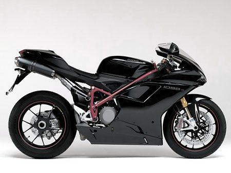 Ducati 1098 - Black