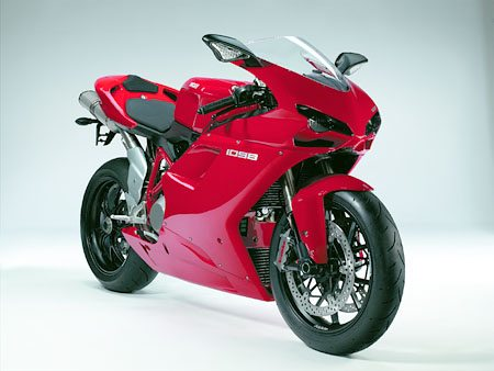 Ducati 1098 - Front View