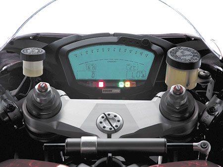 Ducati 1098 - Instruments