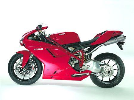 Ducati 1098 - Left Side