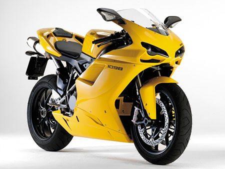 Ducati 1098 - Yellow