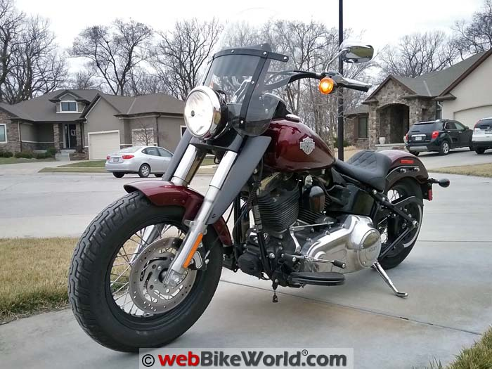 Harley-Davidson Softail Slim Left Side