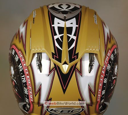 KBC Force RR Helmet - Rear vents