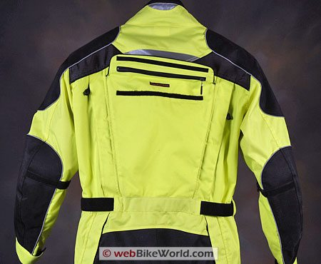Olympia Phantom One Piece Motorcycle Riding Suit - Rear Pocket