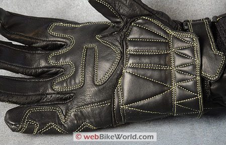 Racer Supply RSC2 Gloves - Palm stitching