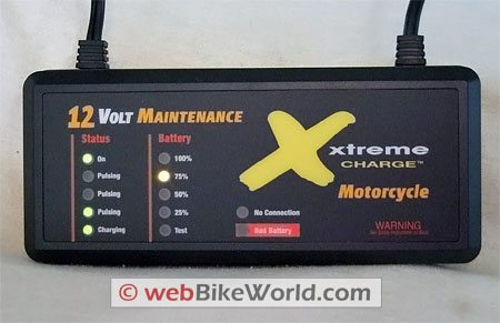 PulseTech Xtreme Charge Motorcycle Battery Charger