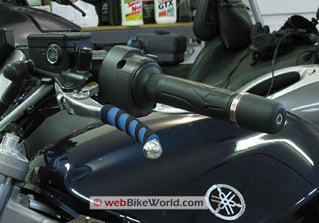 Lever Skins on Yamaha FJR1300