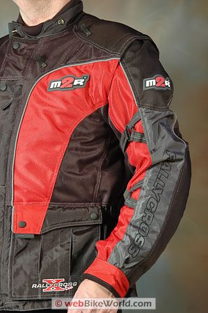 Made2Race M2R Rally Cross Jacket - Arms and Sleeve Adjusters