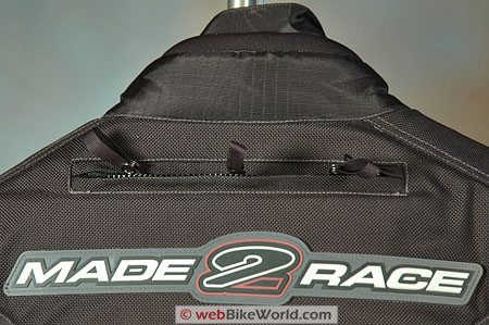 Made2Race M2R Rally Cross Jacket - Hydration Bladder Pocket