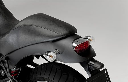 Moto Guzzi Bellagio - Seat and Rear View