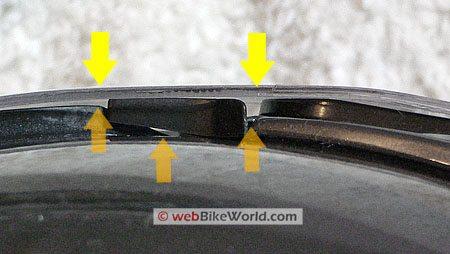 Gaps in visor on HJC FS-MAX