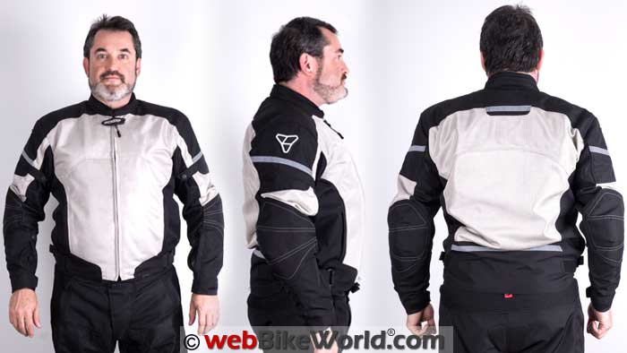 Pilot Direct Air Jacket V3 Front Rear Views