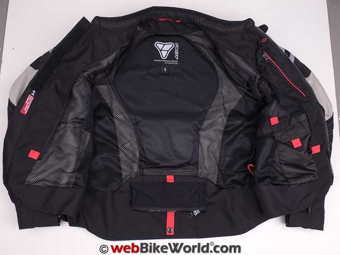 Pilot Direct Air Jacket V3 Interior