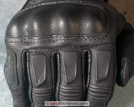 REV'IT! Monster Gloves - Knuckle Close-up
