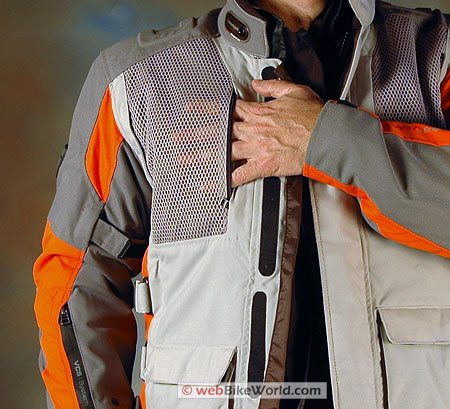 Revit Off Track Jacket - Upper Chest and Mesh Pocket