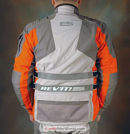 Revit Off Track Jacket - Rear View