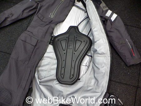 REV'IT! Infinity One-Piece Suit - Liner and Back Protector
