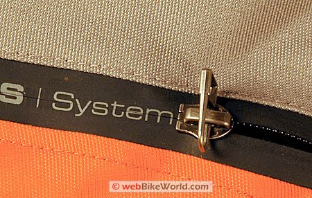 Revit VCS Sealed Waterproof Zipper System