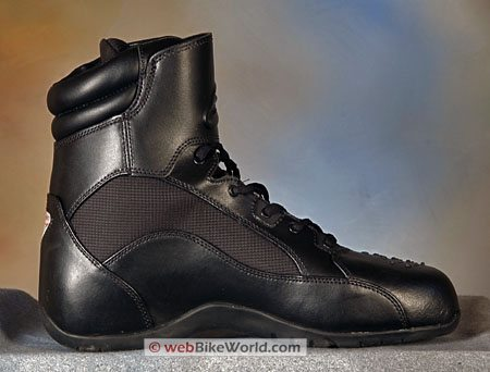 Alpinestars Recon Boots - View of left boot, inner ankle
