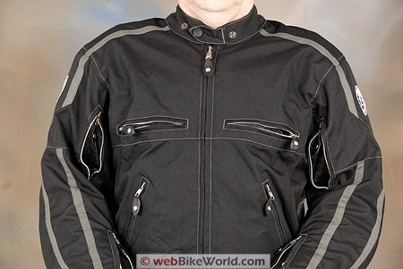 Belstaff Zodiac Jacket - Front Vents and Zippers