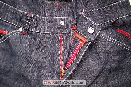 Esquad Jeans - Close-up of fly and waist