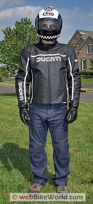 Esquad Jeans and Ducati Jacket