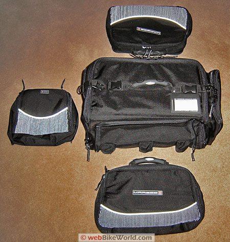 Marsee ZIPP Bag - Detachable bags