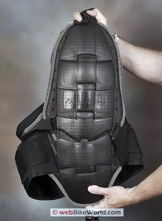Juggernaut Motorcycle Armor - Removable Back Protector, CE Level 2 Approved