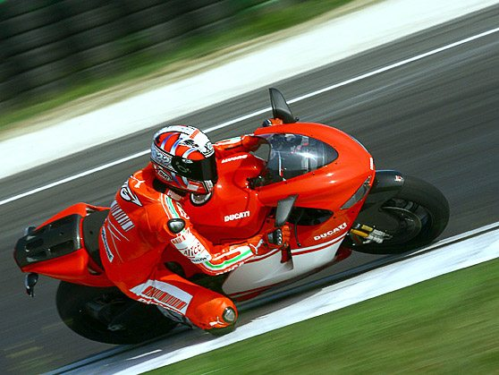 Ducati Desmosedici RR on Track