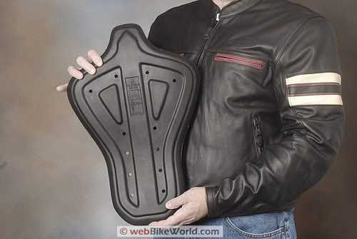 "Furygan ""Fighter"" Leather Motorcycle Jacket - SAS-Tech Level 2 Back Protector"