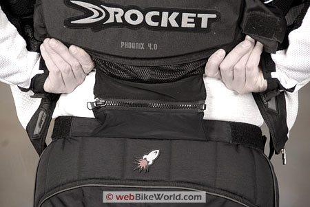 Joe Rocket Phoenix 2.0 Pants - Rear View