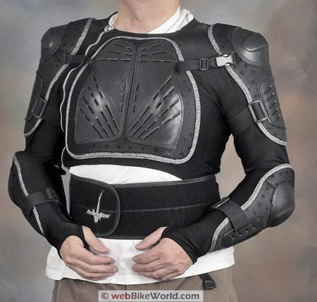 Juggernaut Motorcycle Armor - Front View