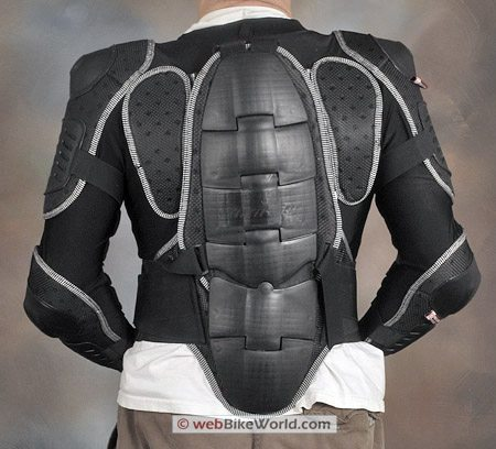 Juggernaut Motorcycle Armor - Rear View