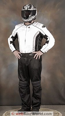 JOE ROCKET PHOENIX 5.0 MESH MOTORCYCLE RIDING JACKET BLACK WATERPROOF LINER TALL
