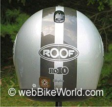 Roof LeMans helmet rear view