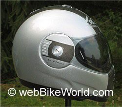 Roof LeMans helmet side view