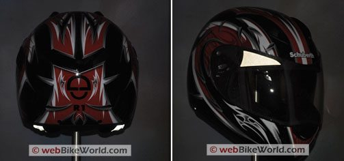 SCHUBERTH R1 - Reflectors