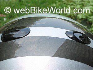 Roof LeMans helmet top venting