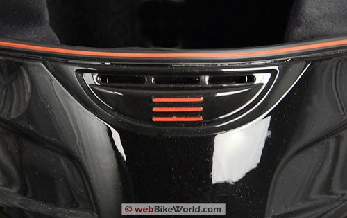 Bell Zephyr Helmet - Chin Vent