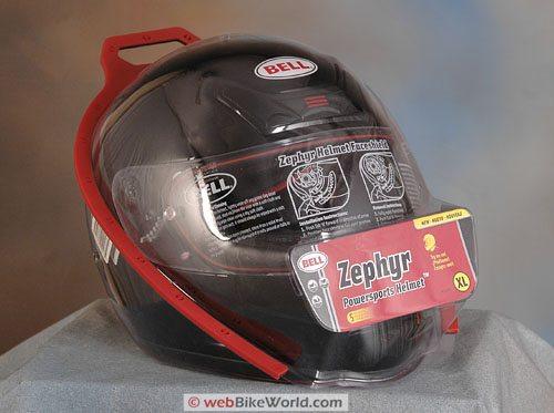 Bell Zephyr Helmet - Package