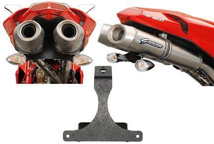 Ducati 1098 Rear Fender Eliminator