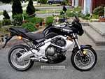 Kawasaki Versys - Black, Right Side View