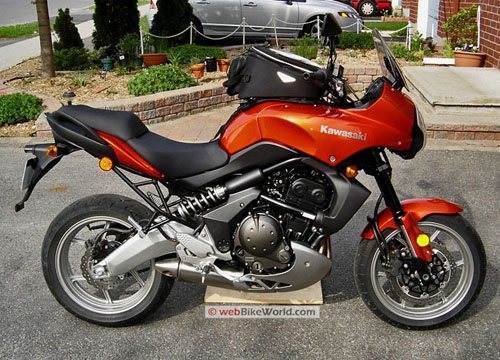 Kawasaki Versys - Candy Burnt Orange, Right Side